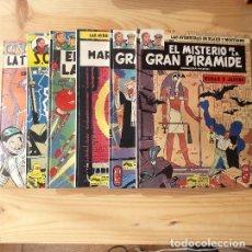 Cómics: LAS AVENTURAS DE BLAKE Y MORTIMER 1, 2 , 3, 4, 5, 6. Lote 224251176