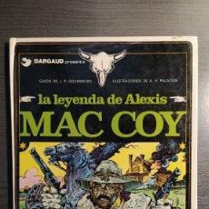 Cómics: LA LEYENDA DE ALEXIS MAC COY. HERNÁNDEZ PALACIOS. EDICIONES JUNIOR S.A. BARCELONA. 1978.. Lote 224307877