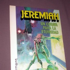 Cómics: JEREMIAH Nº 5. UN COBAYA PARA LA ETERNIDAD. HERMANN. ED. JUNIOR, GRIJALBO. 1982. TRADUCE BAÑOLAS. Lote 224485072