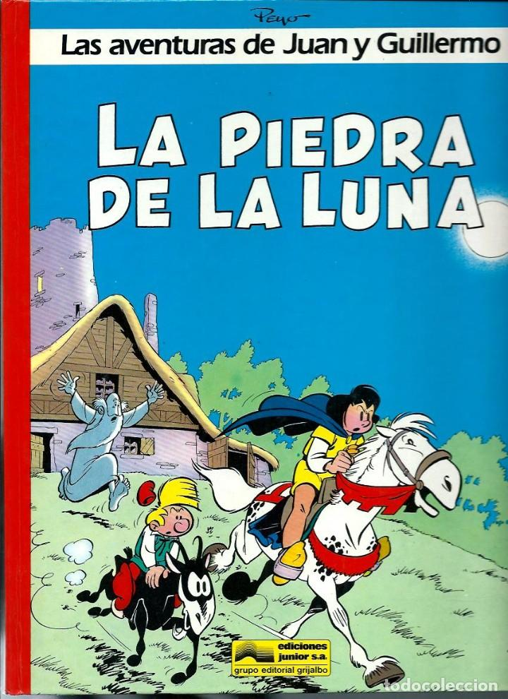 Cómics: PEYO - AVENTURAS DE JUAN Y GUILLERMO - JOHAN Y PIRLUIT - JUNIOR 1986, 4 ALBUMES, COLECCION COMPLETA - Foto 2 - 224661982
