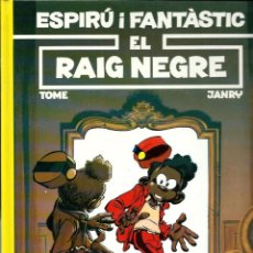 Cómics: TOME & JANRY - ESPIRU I FANTASTIC Nº 32 - EL RAIG NEGRE - ED. JUNIOR 1993 - EN BON ESTAT. Lote 224663725