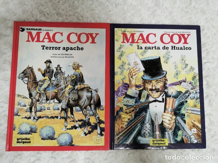 MAC COY - TERROR APACHE N. 17 Y LA CARTA DE HUALCO N. 19 (Tebeos y Comics - Grijalbo - Mac Coy)