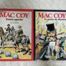 Cómics: MAC COY - TERROR APACHE N. 17 Y LA CARTA DE HUALCO N. 19. Lote 224787197