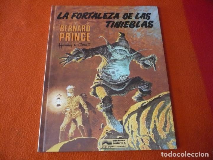 BERNARD PRINCE 11 LA FORTALEZA DE LAS TINIEBLAS ( HERMANN GREG ) ¡MUY BUEN ESTADO! GRIJALBO (Tebeos y Comics - Grijalbo - Otros)