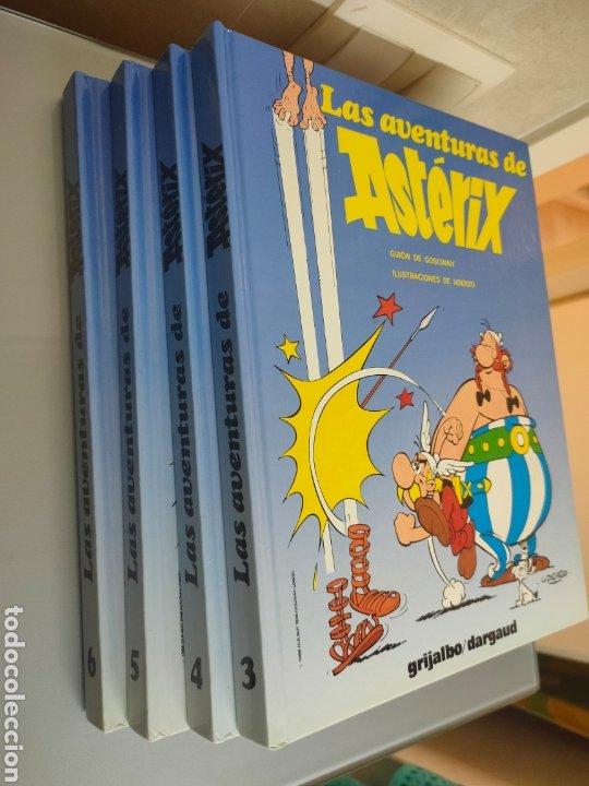 Cómics: 4x Vol. ASTERIX N° 3 4 5 y 6 TAPA DURA GRIJALBO 1998 - Foto 2 - 224969357