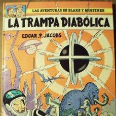 Cómics: BLAKE Y MORTIMER - LA TRAMPA DIABÓLICA - 1ª ED. GRIJALBO - E. P. JACOBS. Lote 225013515