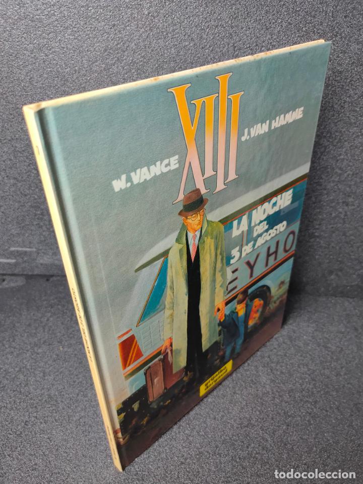 XIII - Nº 7 - LA NOCHE DEL 3 DE AGOSTO - W. VANCE, VAN HAMME - GRIJALBO - TAPA DURA (Tebeos y Comics - Grijalbo - XIII)