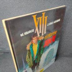 Fumetti: XIII - Nº 6 - EL INFORME JASON FLY - W. VANCE, VAN HAMME - GRIJALBO - TAPA DURA. Lote 225304895