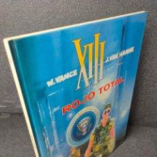 Fumetti: XIII - Nº 5 - ROJO TOTAL - W. VANCE, VAN HAMME - GRIJALBO - TAPA DURA. Lote 225305070