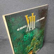 Cómics: XIII - Nº 4 - S.P.A.D.S. - W. VANCE, VAN HAMME - GRIJALBO - TAPA DURA. Lote 225305345