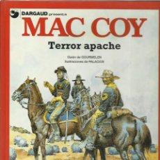 Cómics: MAC COY 17: TERROR APACHE, 1992, GRIJALBO, IMPECABLE. Lote 225604610