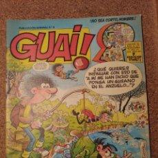 Cómics: COMIC DE GUAI! DEL AÑO 1986 Nº 9. Lote 225707608