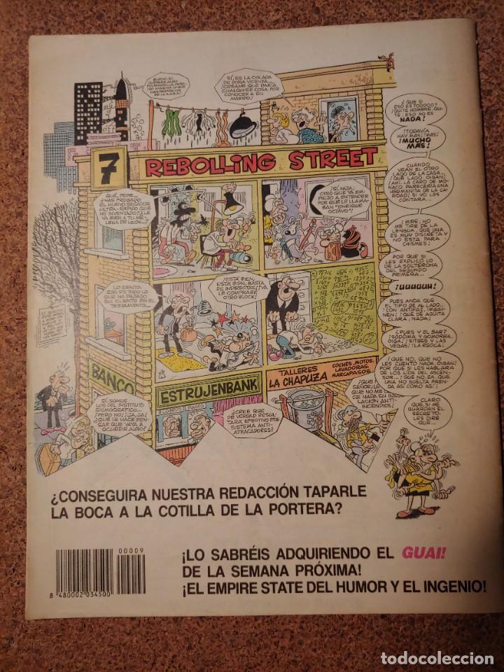 Cómics: COMIC DE GUAI! DEL AÑO 1986 Nº 9 - Foto 2 - 225707608