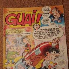 Cómics: COMIC DE GUAI! DEL AÑO 1986 Nº 11. Lote 225708395