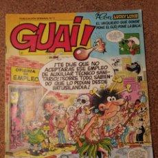 Cómics: COMIC DE GUAI! DEL AÑO 1986 Nº 2. Lote 225708590