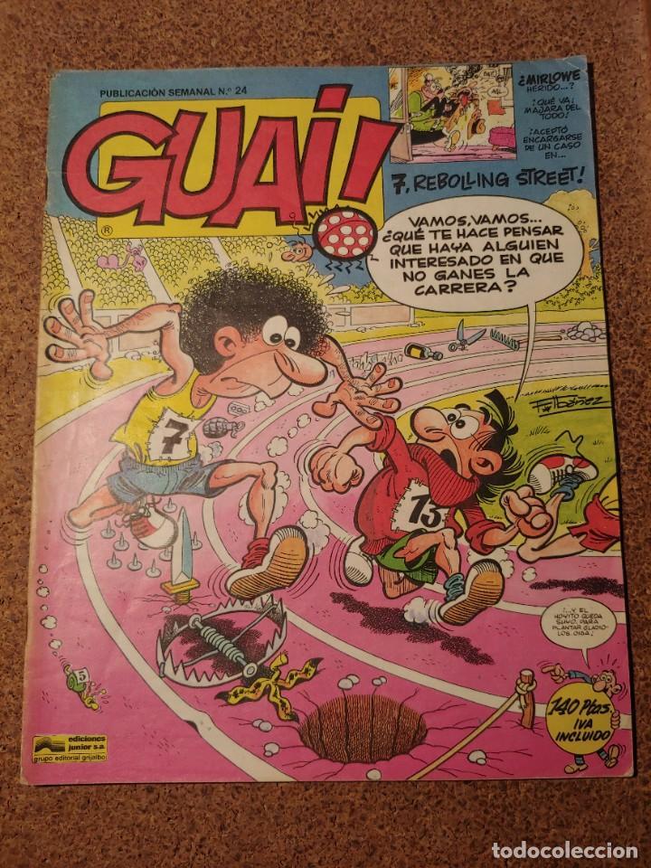COMIC DE GUAI! DEL AÑO 1986 Nº 24 (Tebeos y Comics - Grijalbo - Otros)