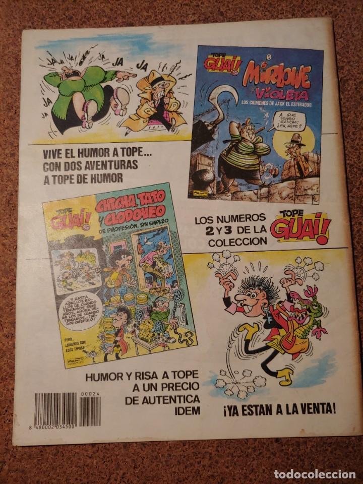 Cómics: COMIC DE GUAI! DEL AÑO 1986 Nº 24 - Foto 2 - 225708800