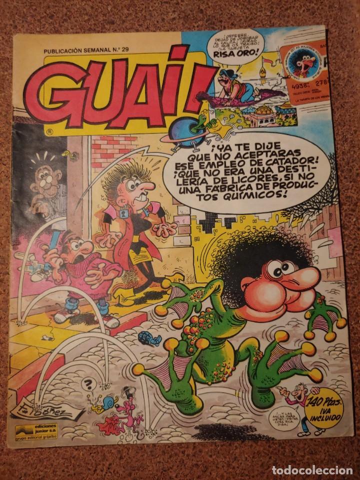 COMIC DE GUAI! DEL AÑO 1986 Nº 29 (Tebeos y Comics - Grijalbo - Otros)
