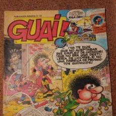 Cómics: COMIC DE GUAI! DEL AÑO 1986 Nº 29. Lote 225709030