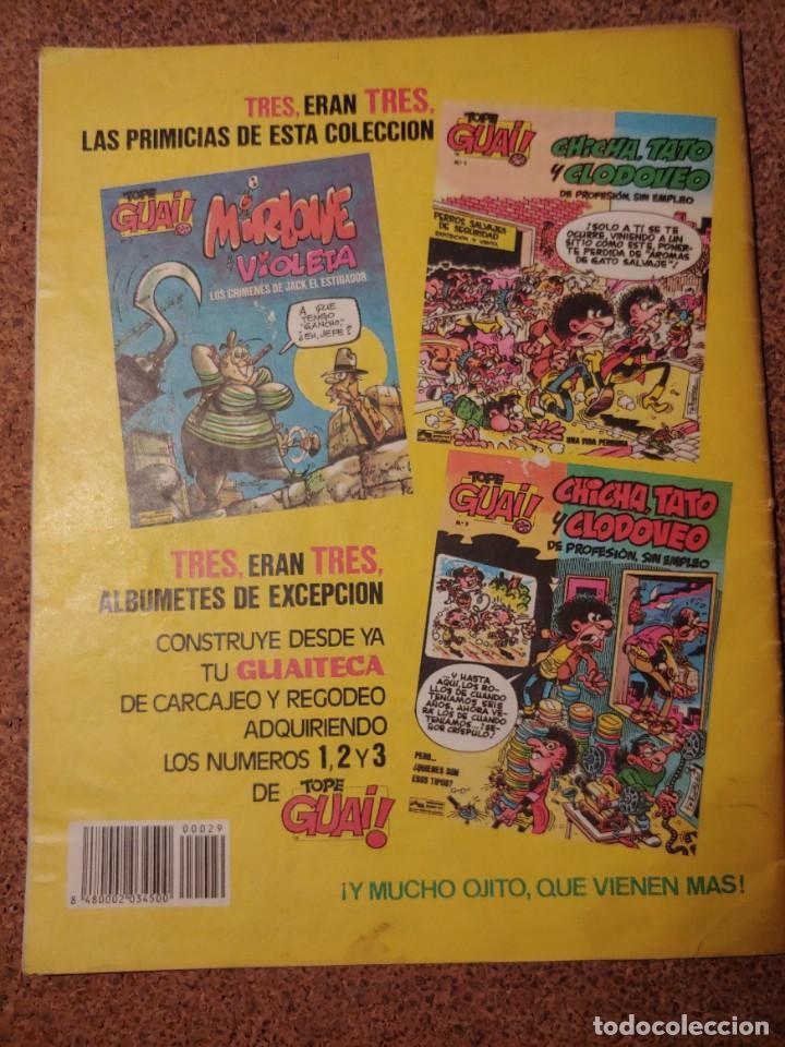 Cómics: COMIC DE GUAI! DEL AÑO 1986 Nº 29 - Foto 2 - 225709030