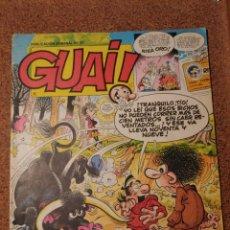 Cómics: COMIC DE GUAI! DEL AÑO 1986 Nº 27. Lote 225709105