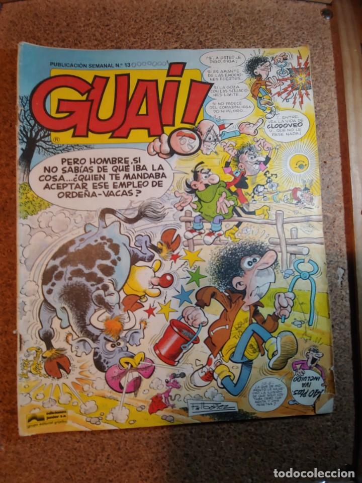 COMIC DE GUAI! DEL AÑO 1986 Nº 13 (Tebeos y Comics - Grijalbo - Otros)