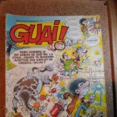 Cómics: COMIC DE GUAI! DEL AÑO 1986 Nº 13. Lote 225728595