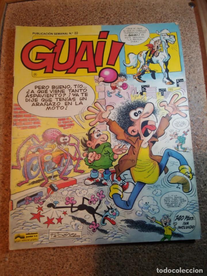 COMIC DE GUAI! DEL AÑO 1986 Nº 22 (Tebeos y Comics - Grijalbo - Otros)