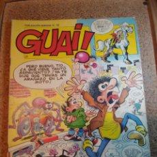 Cómics: COMIC DE GUAI! DEL AÑO 1986 Nº 22. Lote 225729040