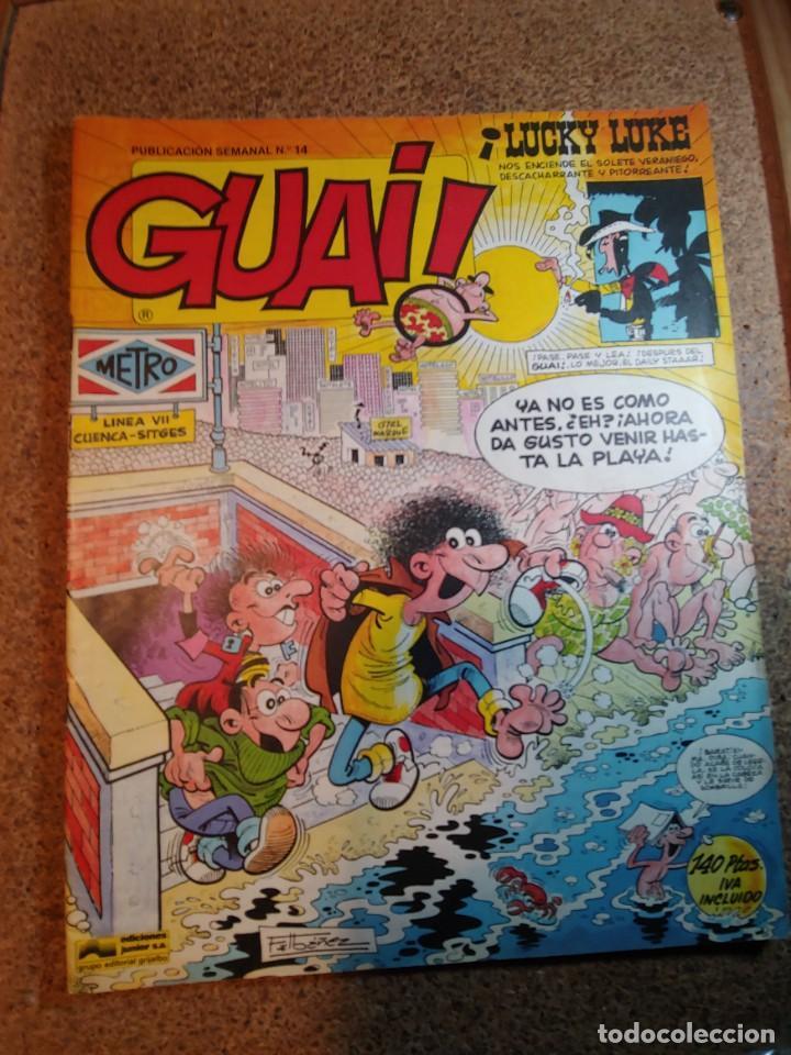 COMIC DE GUAI! DEL AÑO 1986 Nº 14 (Tebeos y Comics - Grijalbo - Otros)