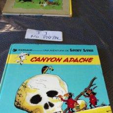 Cómics: CANYON APACHE 17 LUCKY LUKE GRIJALBO DARGAUD VER FOTOS MANCHA EN UNA PÁGINA. Lote 225782108