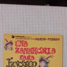 Cómics: UNA ZANAHORIA PARA IZNOGUD , PRIMERA EDICIÓN 1977. Lote 226107280