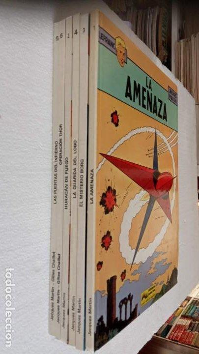 Cómics: LEFRANC 1ª EDICIÓN 1986 - 1 AL 6 NUEVOS - VER IMÁGENES - J. MARTÍN - G. CHAILLET - Foto 3 - 226156710