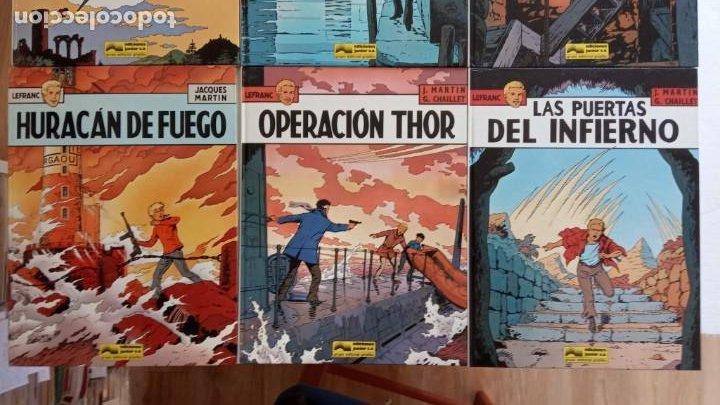 Cómics: LEFRANC 1ª EDICIÓN 1986 - 1 AL 6 NUEVOS - VER IMÁGENES - J. MARTÍN - G. CHAILLET - Foto 4 - 226156710