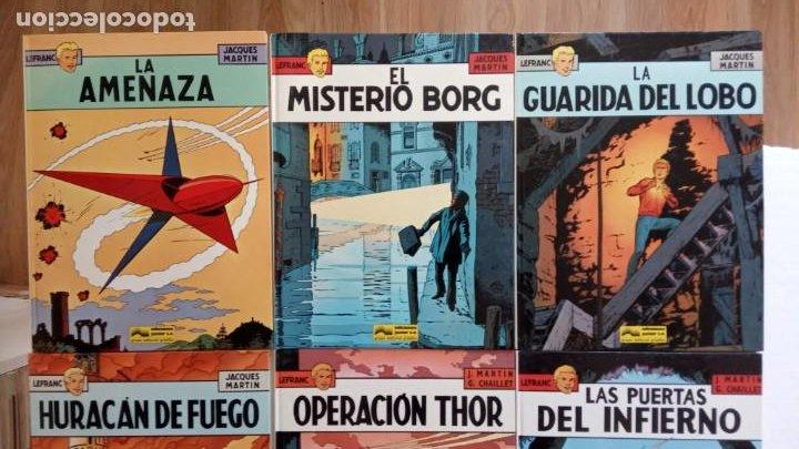 Cómics: LEFRANC 1ª EDICIÓN 1986 - 1 AL 6 NUEVOS - VER IMÁGENES - J. MARTÍN - G. CHAILLET - Foto 5 - 226156710