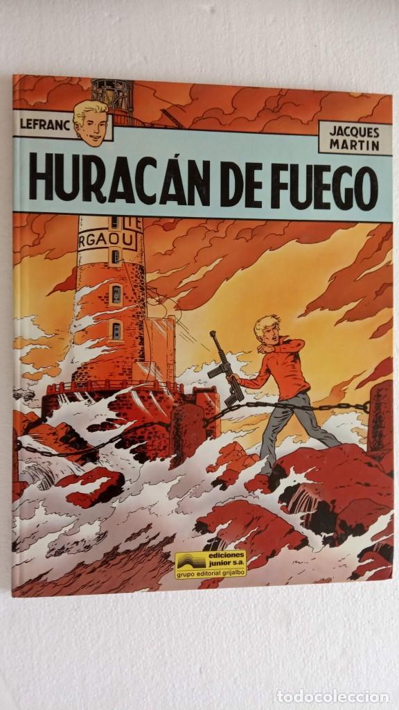 Cómics: LEFRANC 1ª EDICIÓN 1986 - 1 AL 6 NUEVOS - VER IMÁGENES - J. MARTÍN - G. CHAILLET - Foto 11 - 226156710