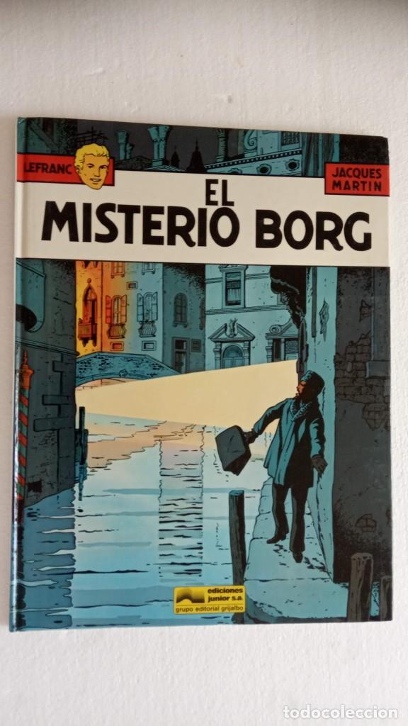 Cómics: LEFRANC 1ª EDICIÓN 1986 - 1 AL 6 NUEVOS - VER IMÁGENES - J. MARTÍN - G. CHAILLET - Foto 15 - 226156710