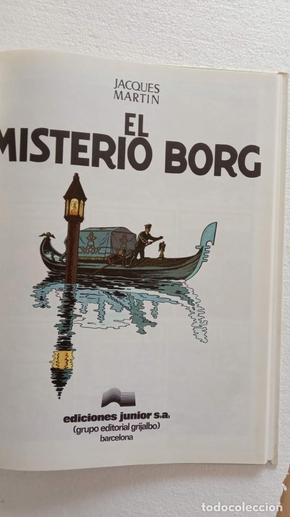 Cómics: LEFRANC 1ª EDICIÓN 1986 - 1 AL 6 NUEVOS - VER IMÁGENES - J. MARTÍN - G. CHAILLET - Foto 16 - 226156710