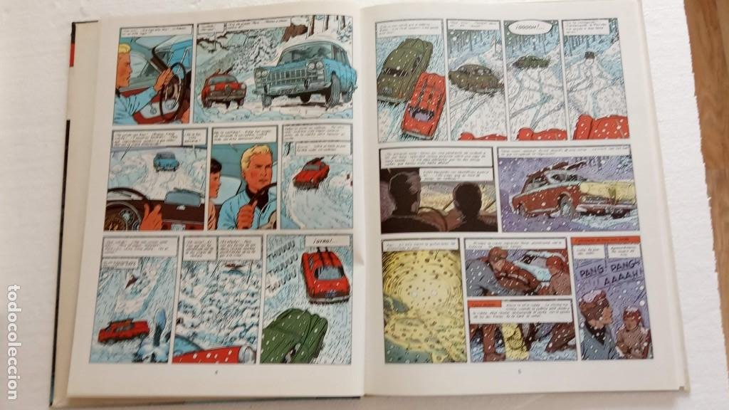 Cómics: LEFRANC 1ª EDICIÓN 1986 - 1 AL 6 NUEVOS - VER IMÁGENES - J. MARTÍN - G. CHAILLET - Foto 17 - 226156710