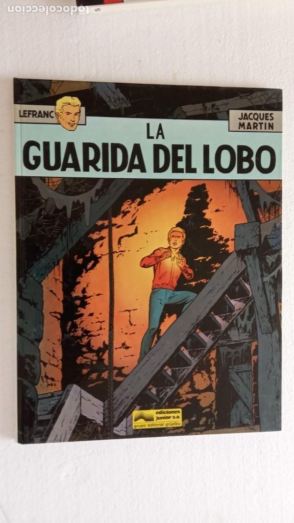Cómics: LEFRANC 1ª EDICIÓN 1986 - 1 AL 6 NUEVOS - VER IMÁGENES - J. MARTÍN - G. CHAILLET - Foto 23 - 226156710
