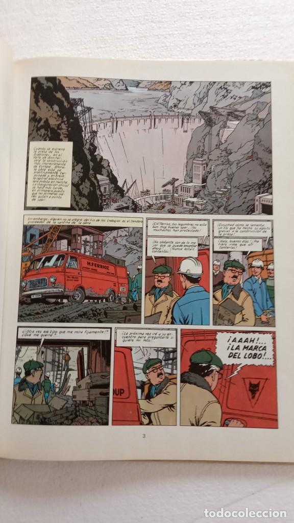 Cómics: LEFRANC 1ª EDICIÓN 1986 - 1 AL 6 NUEVOS - VER IMÁGENES - J. MARTÍN - G. CHAILLET - Foto 25 - 226156710