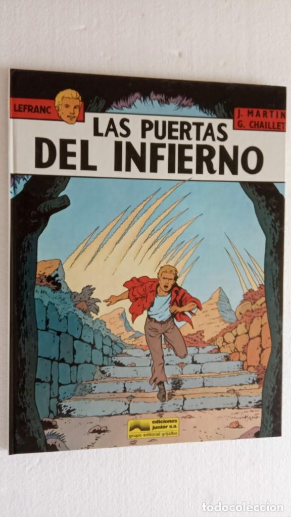 Cómics: LEFRANC 1ª EDICIÓN 1986 - 1 AL 6 NUEVOS - VER IMÁGENES - J. MARTÍN - G. CHAILLET - Foto 28 - 226156710