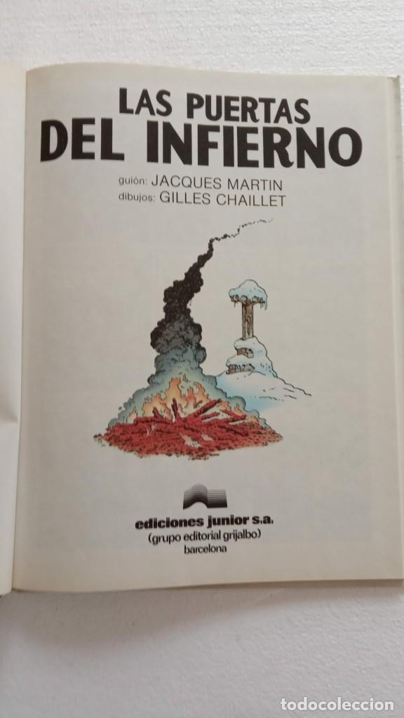 Cómics: LEFRANC 1ª EDICIÓN 1986 - 1 AL 6 NUEVOS - VER IMÁGENES - J. MARTÍN - G. CHAILLET - Foto 29 - 226156710