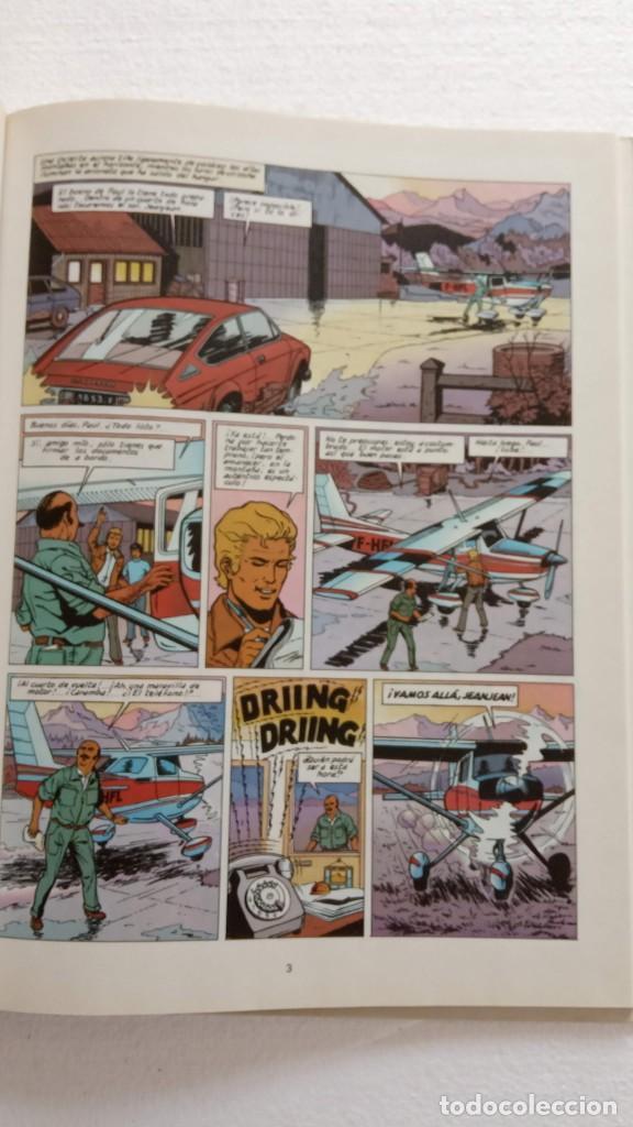 Cómics: LEFRANC 1ª EDICIÓN 1986 - 1 AL 6 NUEVOS - VER IMÁGENES - J. MARTÍN - G. CHAILLET - Foto 30 - 226156710