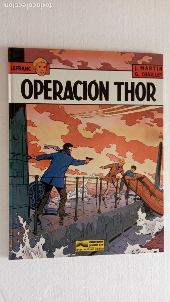 Cómics: LEFRANC 1ª EDICIÓN 1986 - 1 AL 6 NUEVOS - VER IMÁGENES - J. MARTÍN - G. CHAILLET - Foto 33 - 226156710