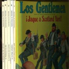 Cómics: LOS GENTLEMEN. LOS 5 ALBUMES PUBLICADOS. 1ª EDICIÓN 1980. NUEVOS FONDO ALMACÉN.. Lote 226234428