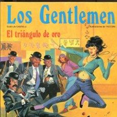 Cómics: LOS GENTLEMEN. Nº4. EL TRIÁNGULO DE ORO. GRIJALBO 1980. PERFECTO. Lote 226234668