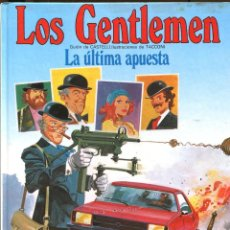 Cómics: LOS GENTLEMEN Nº 2. LA ÚLTIMA APUESTA. GRIJALBO 1980. PERFECTO. Lote 226234895