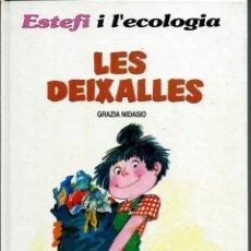 Cómics: GRAZIA NIDASIO - ESTEFI I L'ECOLOGIA - LES DEIXALLES - EDICIONS JUNIOR 1992 - MOLT BE - UNIC A TC. Lote 226784565