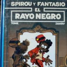 Comics : SPIROU Y FANTASIO Nº 32 EL RAYO NEGRO - TOME / JANRY. Lote 226831670